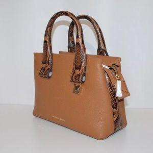 87c4367a0f64 Michael Kors Bags - New Michael Kors Rollins Python Embossed satchel
